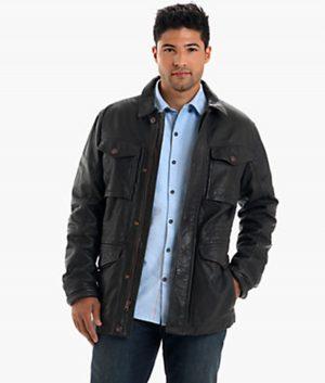 Stephen Mens Leather Jacket