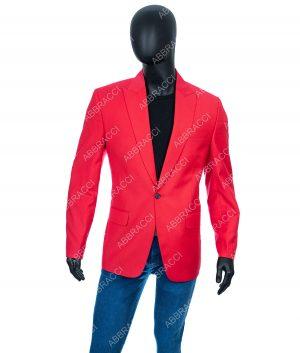 Red Weeknd Coat