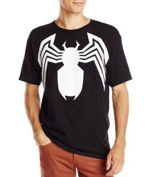 Venom Logo Black T-Shirt