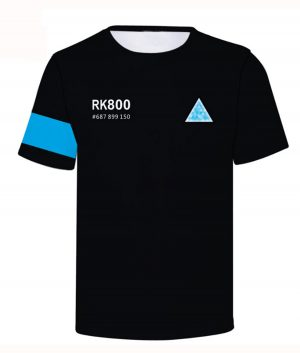 Detroit Become Human Connor RK-800 T-shirt