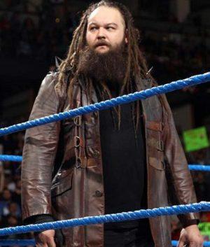 WWE Bray Wyatt Wrestler Leather Jacket