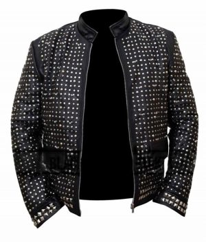 WWE WrestleMania Chris Jericho Y2j Sparkle Leather Jacket