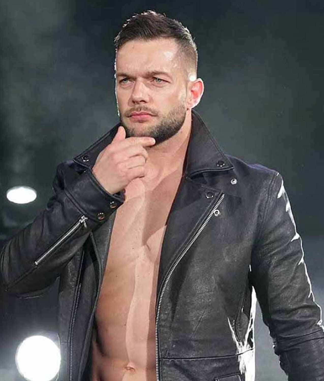 Wwe Finn Balor Leather Jacket Men Leather Jacket