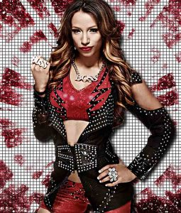 WWE Sasha Black Studded Leather Jacket