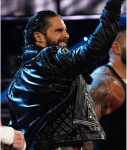 WWE Seth Rollins Black Jacket