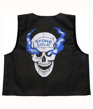 WWE Stone Cold Steve Austin 316 Skull Vest