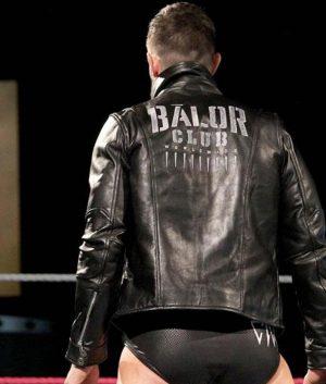WWE Finn Balor Black Leather Jacket