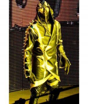 WWE Wrestler Dustin Patrick Runnels Jr Gold Dust Hoodie Coat