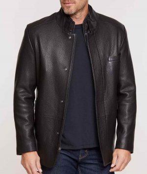 Whidden Mens Lambskin Leather Blazer Jacket
