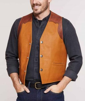 Williams Mens Vest with Concealed Carry Pockets