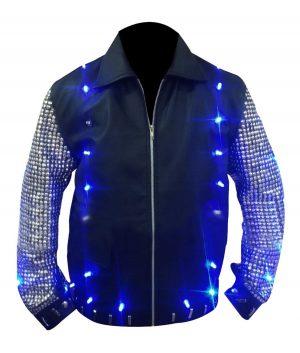 Y2J Chris Jericho Light Up Leather Jacket
