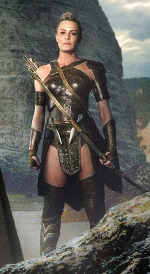 Antiope Justice League Leather Corset