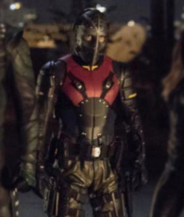 Arrow Season 06 Wild Dog Leather Jacke