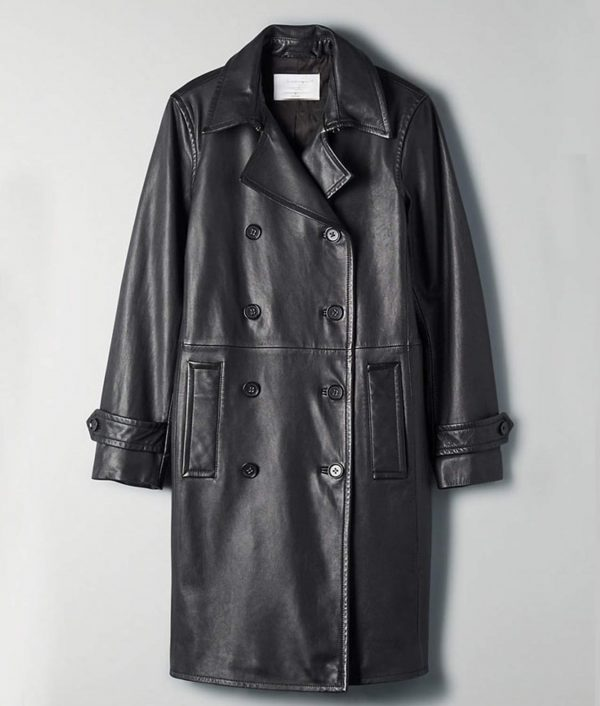 Arrow Season 08 Dinah Drake Leather Coat