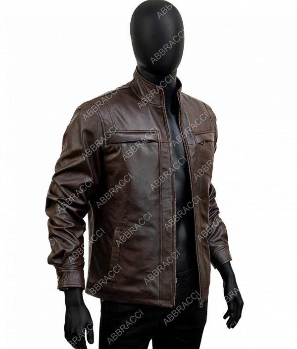 Arrow Season 4 David Ramsey Brown John Diggle Jacket