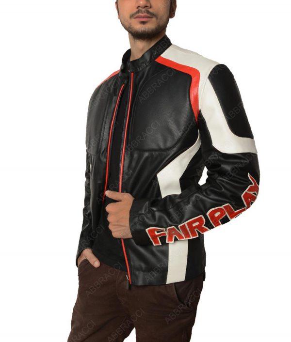 Arrow Season 5 Mister Terrific Leather Jacket