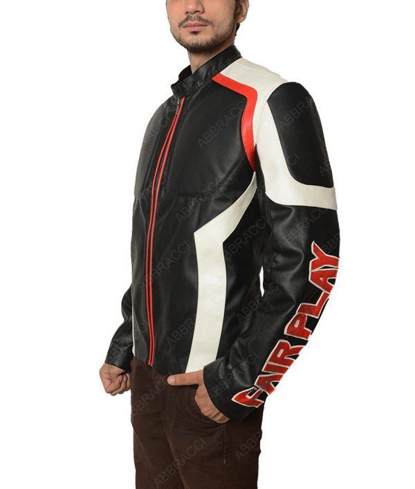 Arrow Season 5 Echo Kellum Curtis Holt Mister Terrific Leather Jacket