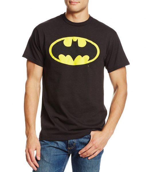 Batman Classic Logo Black T-Shirt