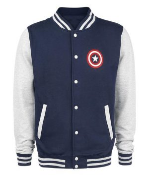 Captain America Letterman Jacket