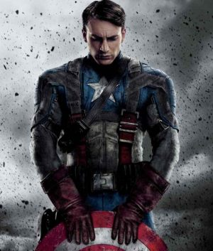 Captain America The First Avenger Jacket (Free T- Shirt)
