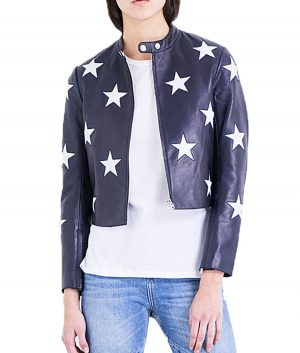 Cheryl Blossom Star Printed Jacket