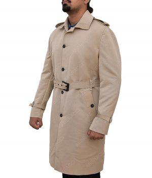 John Constantine khaki Mid length Cotton Jacket