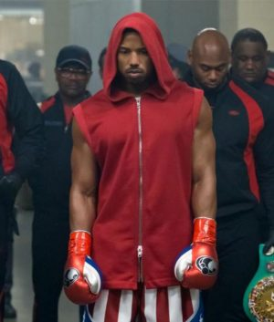 Creed II Adonis Johnson Hooded Vest