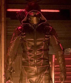 Crisis On Earth X Dark Arrow Jacket