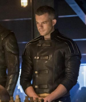 Crisis On Earth X Ray Terril Leather Jacket