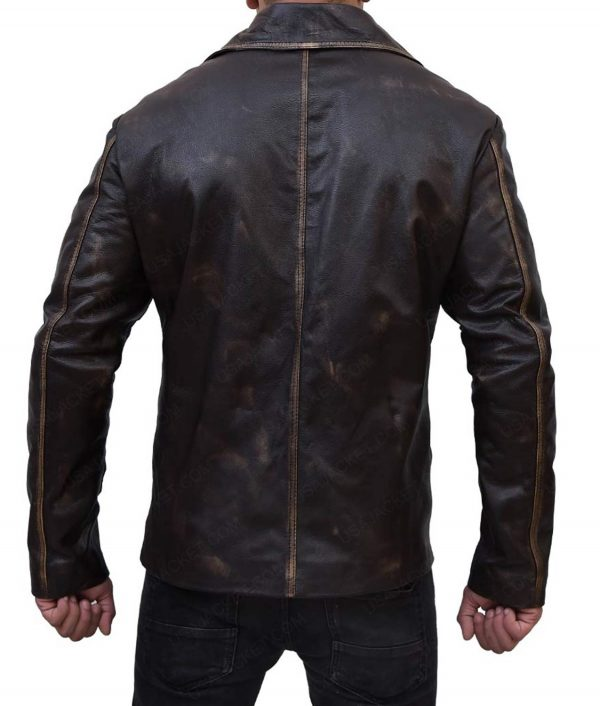 Dean Winchester Supernatural Distressed Leather Coat