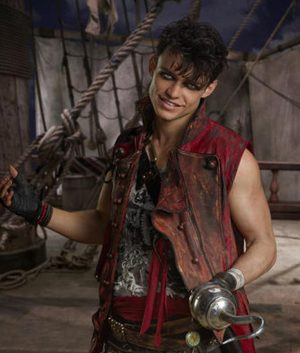 Descendants 2 Thomas Doherty Leather Coat