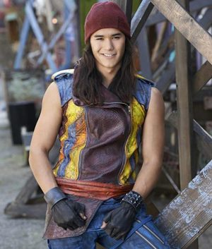 Booboo Stewart Descendants Jay Studded Sleeveless Leather Vest