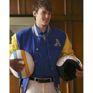 Descendants Mitchell Hope Letterman Jacket