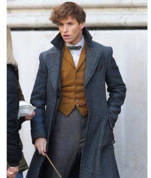 Fantastic Beasts 2 Newt Scamander Grey Coat