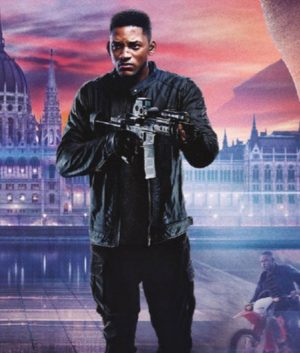 Gemini Man Will Smith Henry Brogen Black Junior Leather Jacket