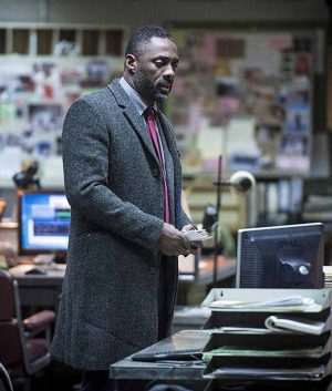 Idris Elba Luther Trench Coat