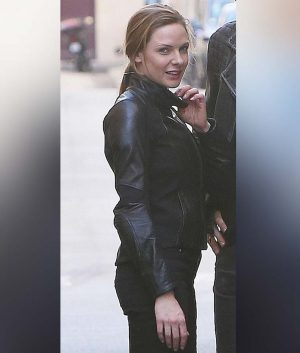 Rebecca Ferguson MI6 Biker Jacket