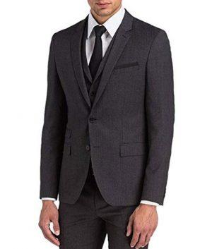Keanu Reeves Grey John Wick Complete Suit