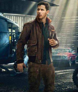 Nick Jonas Jumanji Pilot Jacket