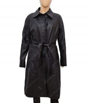 Fantastic Beasts 2 Tina Goldstein Leather Black Coat