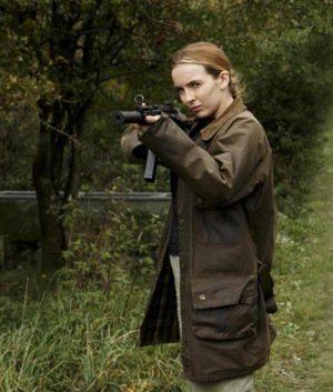 Villanelle Killing Eve Jodie Comer Brown Cotton Coat