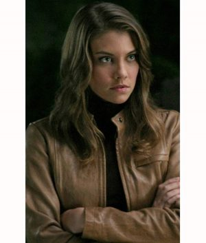 Supernatural TV Series Bela Talbot Leather Jacket