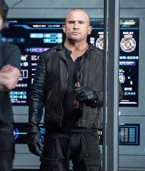 Legend Of Tomorrow Mick Rory Leather Sleeves Jacket