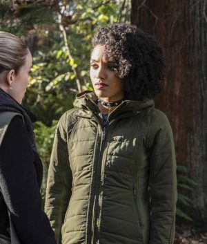 Legends Of Tomorrow S05 Ep9 Maisie Charlie Jacket With Hood