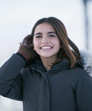 Let It Snow Isabela Moner Coat With Hood