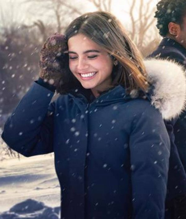 Let It Snow Isabela Moner Coat Hood