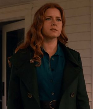 Justice League Lois Lane Amy Adams Green Trench Jacket