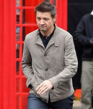 William Brandt Mission Impossible 5 Jeremy Renner Gray Jacket
