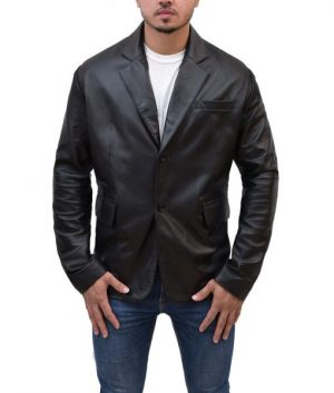 Ethan Hunt Mission Impossible Tom Cruise Black Leather Jacket