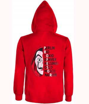 Money Heist La Casa De Papel Hoodie Jacket